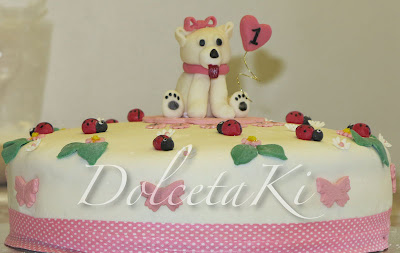 torta con cagnolino