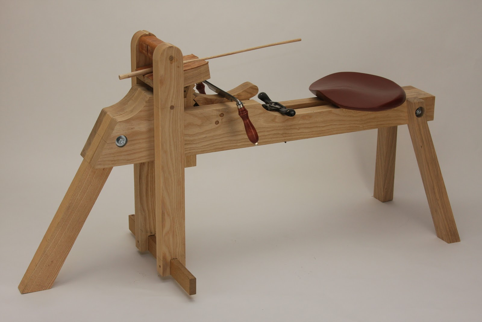1000+ images about Carving/Shaving Horse, tripod style ...