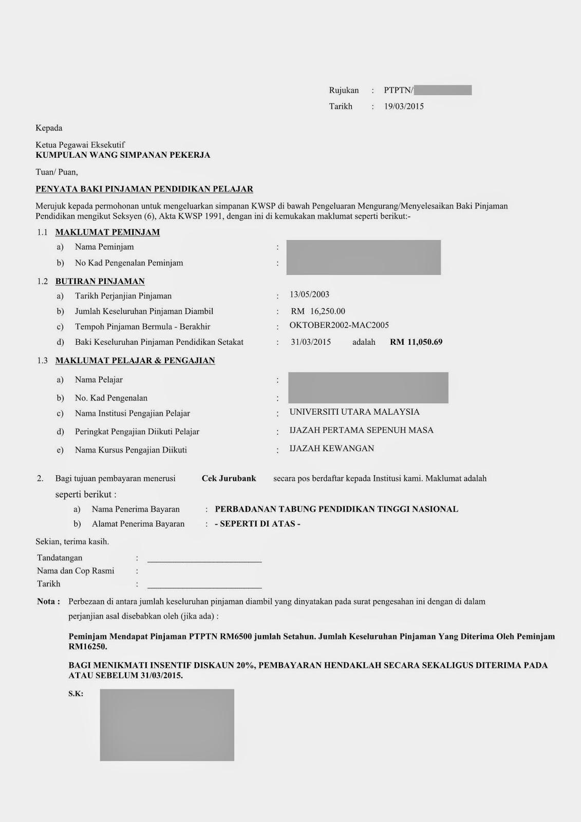 Pejabat Ptptn Cawangan Kuala Lumpur Contoh Penyelesaian