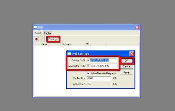 شرح خطوات اعداد برنامج Winbox فى سيرفر المايكروتك Mikrotik  14