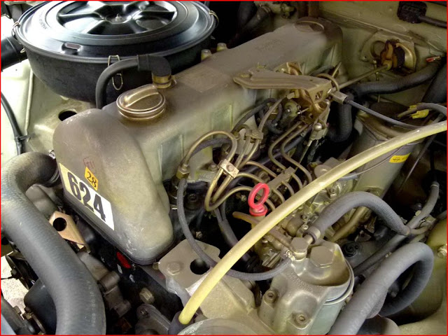 w123 diesel engine