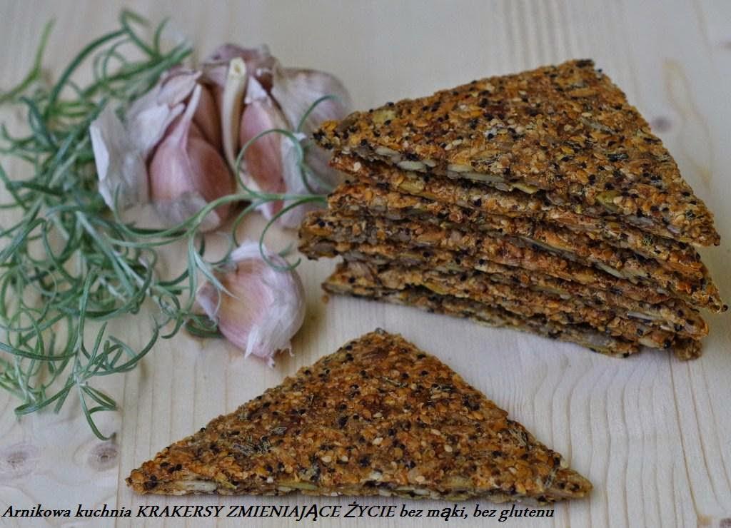 Arnikowa Kuchnia Krakeresy Zmieniające życie Bez Mąki Bez