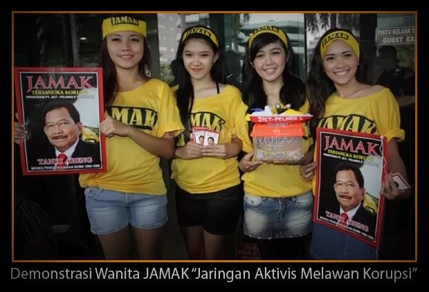 Demonstrasi Wanita JAMAK, Jaringan Aktivis Melawan Korupsi