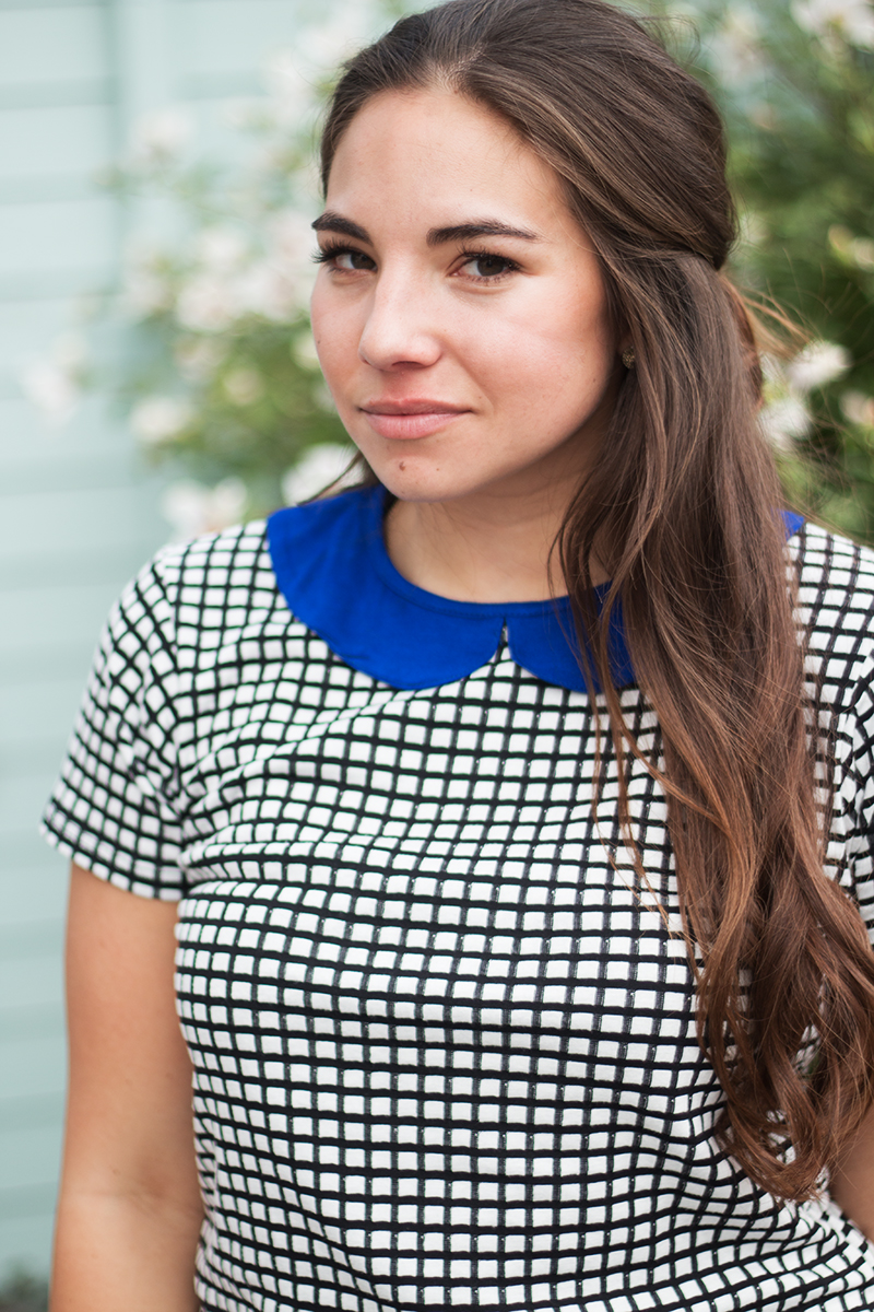 blue peter pan collar