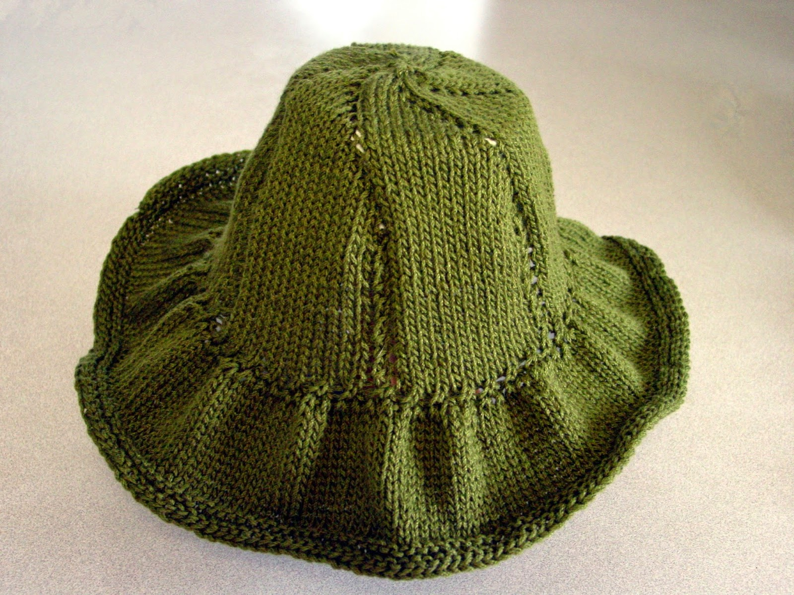 Knitted Summer Hats