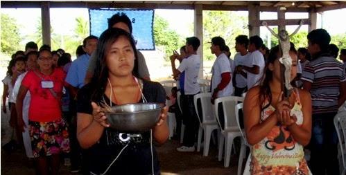 Juventude indígena de Roraima promove formação missionária