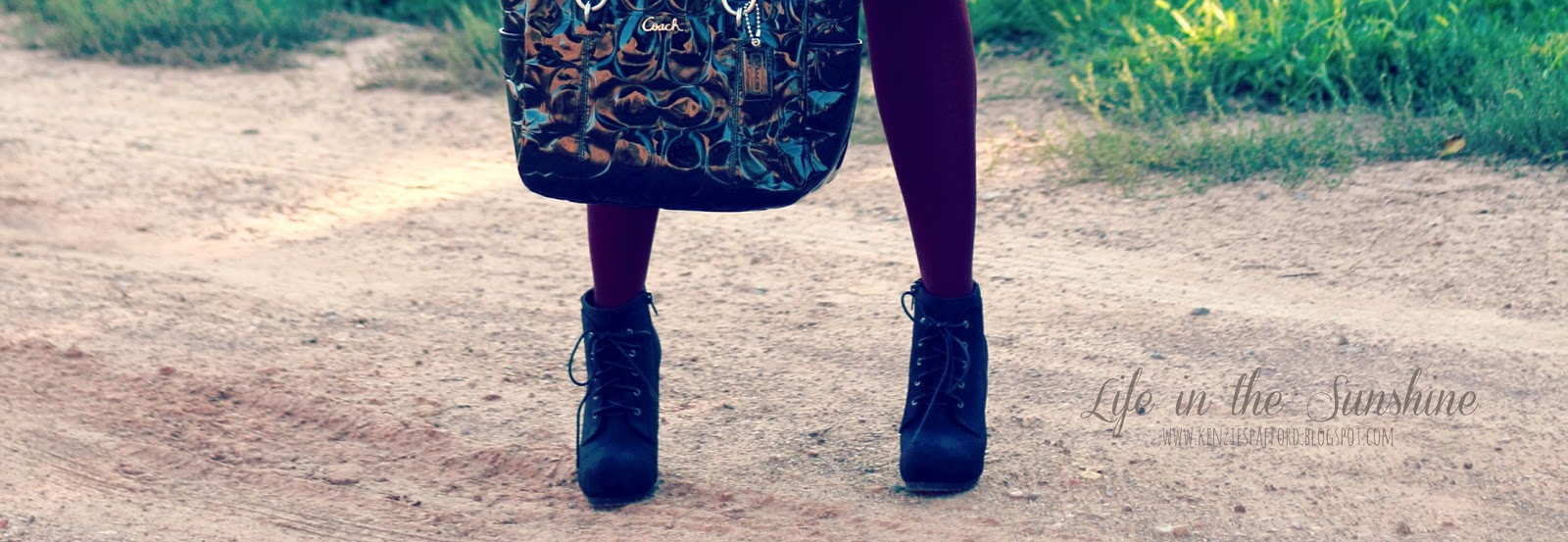 These Boots Were Made For Walking - Life in the Sunshine Blog