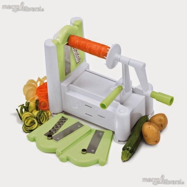 Affetta verdure: spaghetti vegetali pronti in un attimo