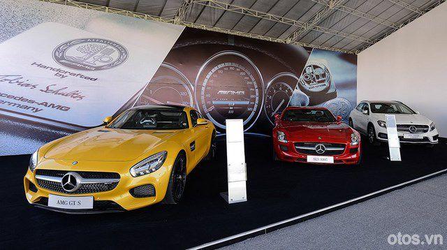 Học viện lái xe an toàn Mercedes-Benz 2015 thú vị tại Sài Gòn