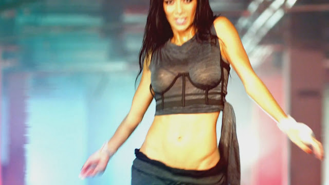 Nicole Scherzinger - Wet See Throught Top