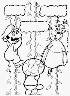 Mario bros disegni da colorare for Disegni mario bros da colorare