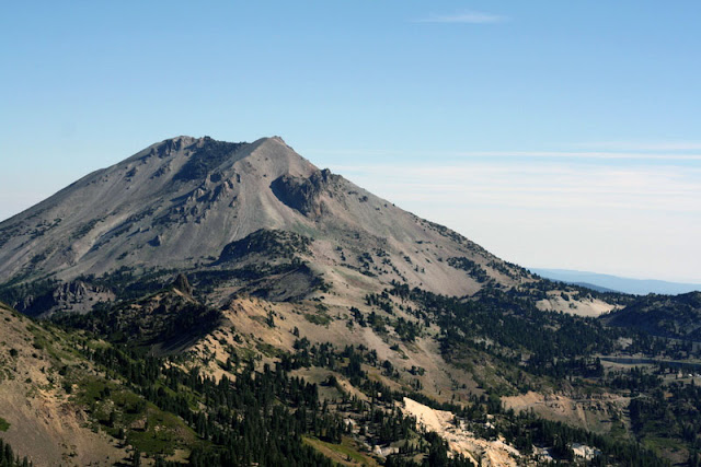 lassen peak plug dome lassen volcanic