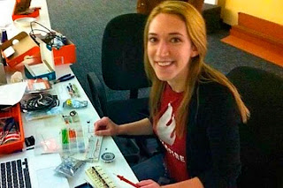 Arielle Zuckerberg doping office work
