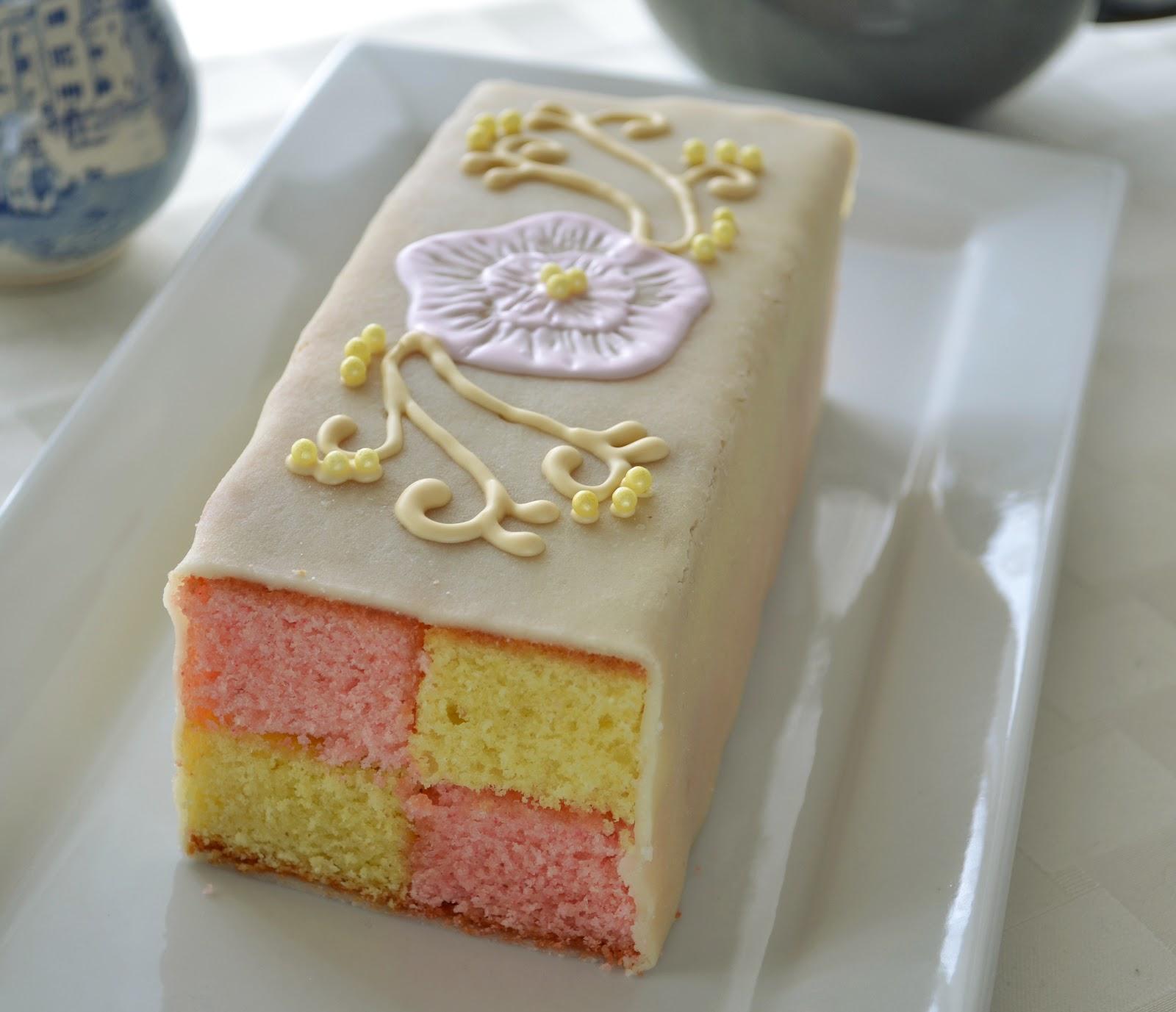Cake With Marzipan And Lemon