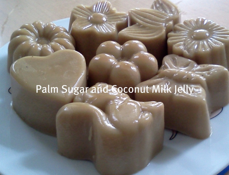 how to make agar agar jelly with coconut milk