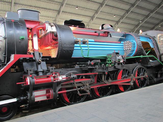 locomotora funcionamiento museo de madrid