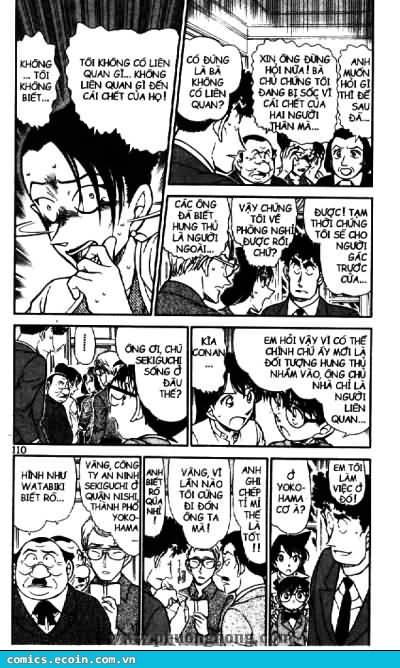 Detective Conan - Thám Tử Lừng Danh Conan chap 497 page 4 - IZTruyenTranh.com