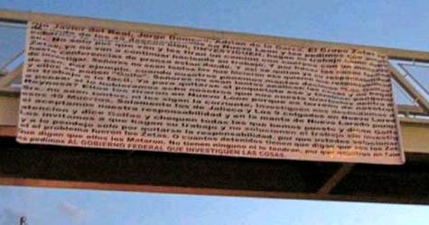 ... Valles, San Luis Potosí, y fueron firmadas por el grupo de Los Zetas