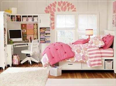 Dise o de dormitorios peque os para adolescentes decorar for Disenos de cuartos para ninas adolescentes