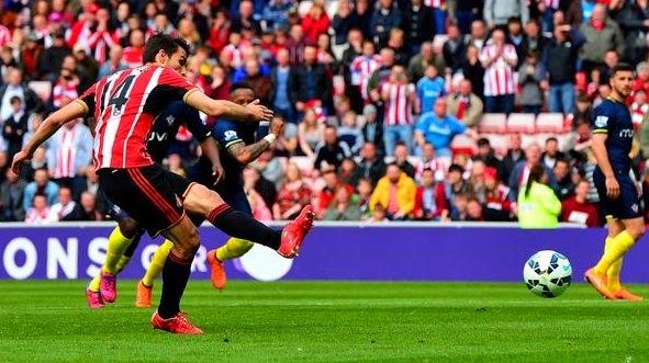 Sunderland 2-1 Southampton