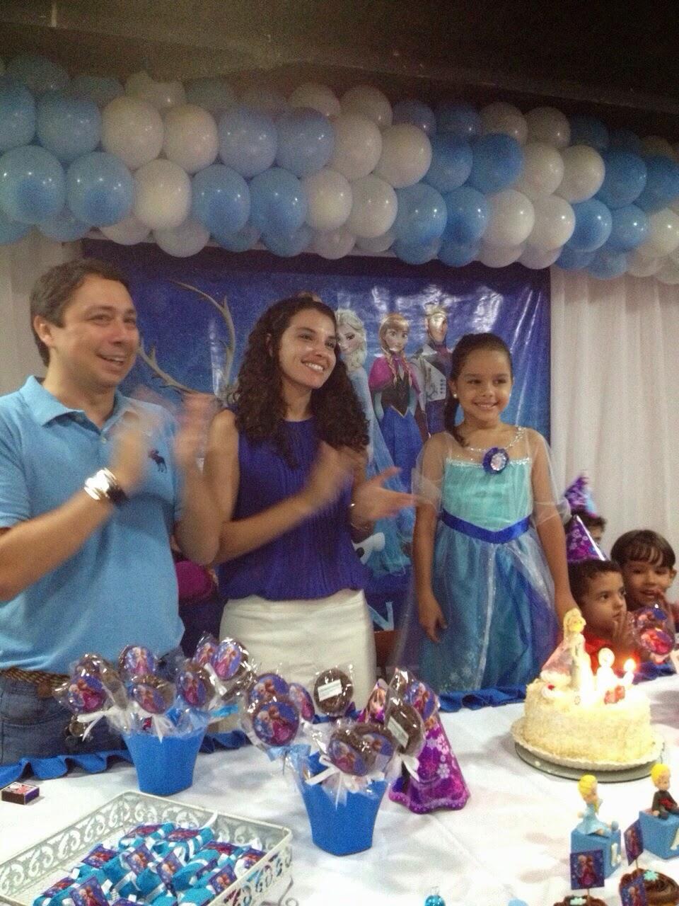 Alaíde Morais - Mimos e Lembrancinhas Frozen aniversário da Lara de 6 ninhos