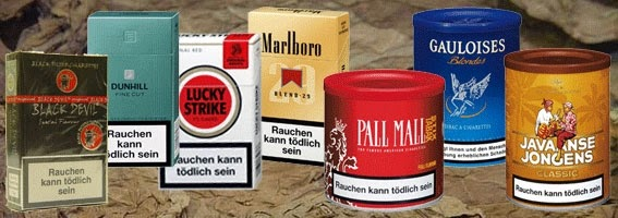 Purchase cigarette at web