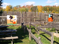 Childrens maze at Cannamore Orchard