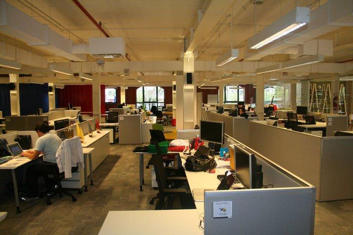 Mobiliario de oficina las oficinas de google for Las oficinas