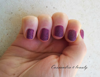 NOTD: Smalto Sugar Mat Kiko n. 424 Wine - in collaborazione con Country Rose