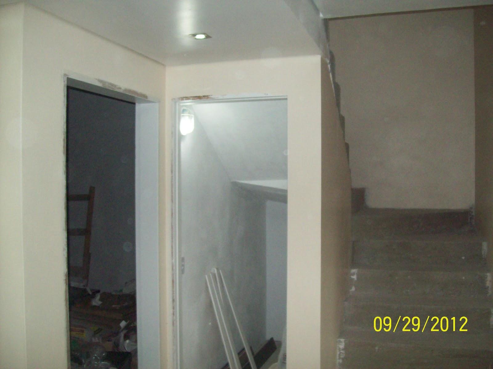 GESSO: Fotos de gesso acartonado com instalação e acabamento feito #645F4D 1600x1200 Acabamento Gesso Banheiro