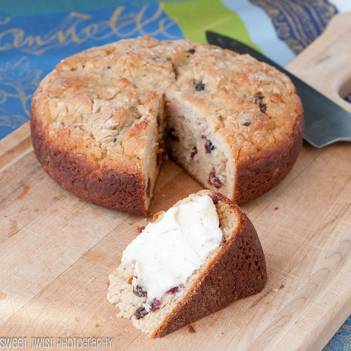 Sweet Twist of Blogging: Gluten Free Irish Soda Bread