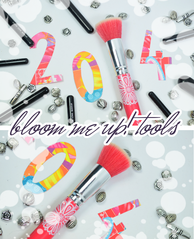 Meine essence Lieblingsprodukte 2014 BLOOM ME UP TOOLS