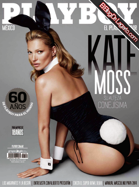 Kate Moss Playboy Mexico enero PDF
