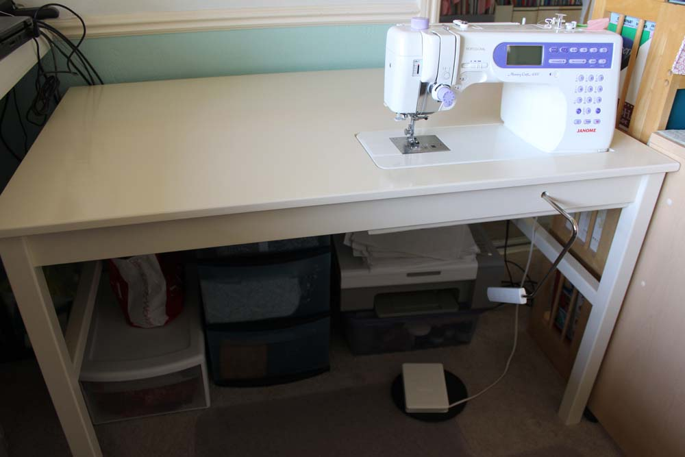 sewing machine table plans