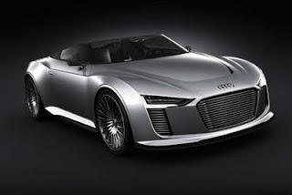 New Audi R4 Sports Convertible