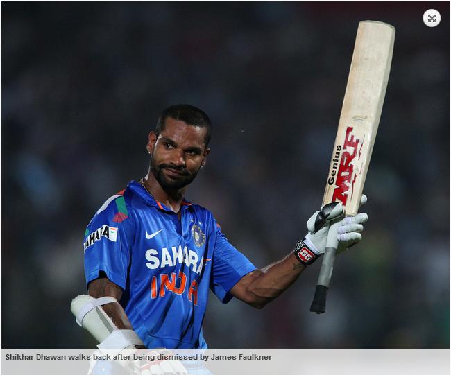 Shikhar-Dhawan-India-vs-Australia-star-sports-2nd-ODI-2013