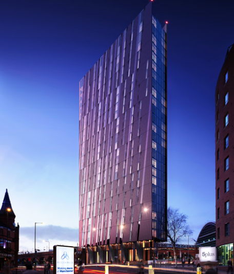 Axis Tower at Manchester, An Iconic Investment Opportunity