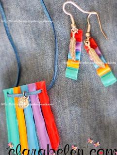http://clarabelen.com/inspiraciones/4034/conjunto-de-pendientes-o-aretes-y-colgante-hecho-con-pajitas-o-sorbetes-reciclados/