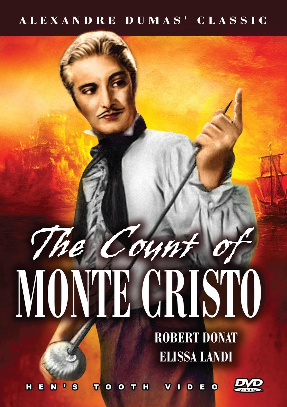 Pel cula dirigida por the count of monte cristo del a o 1934 en los papeles estelar robert donat como edmond dantes elissa landi como mercedes
