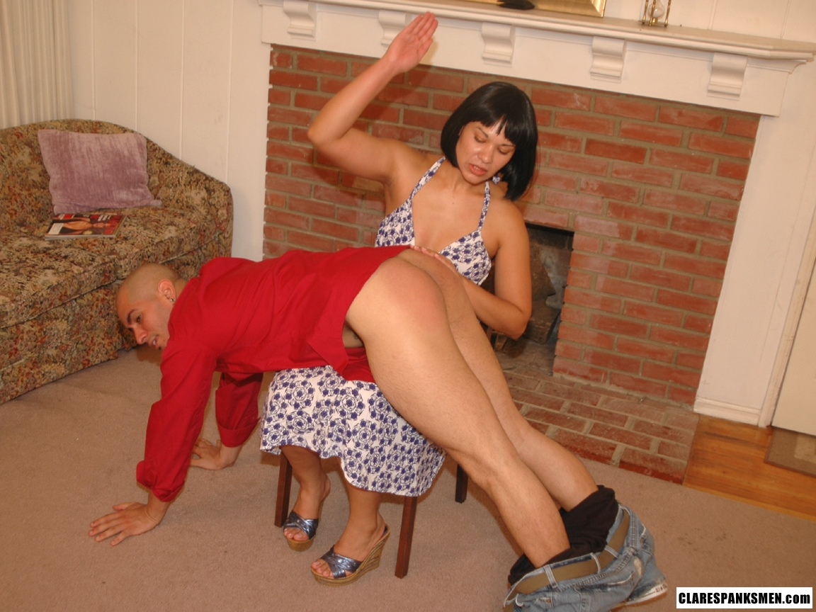 Husbands Spank Wife Big Boy
