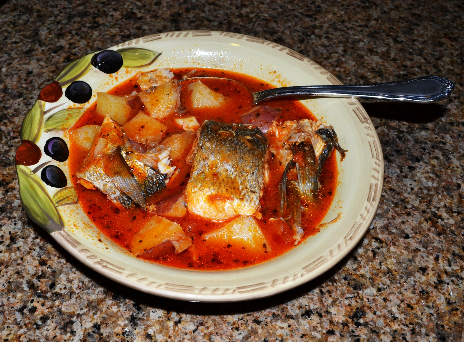 Fish and potato stew yummy eats and travels for Fish stew with potatoes