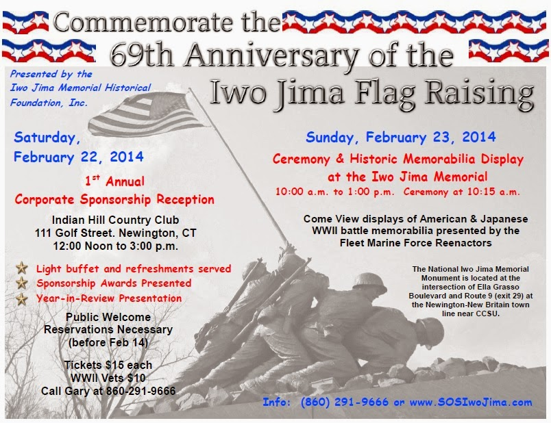69th Anniversary of the Iwo Jima Flag Raising
