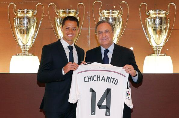 EL ¨CHICHARITO¨ SE VISTE DE BLANCO
