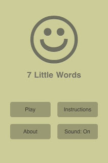 7 Little Words iPhone App