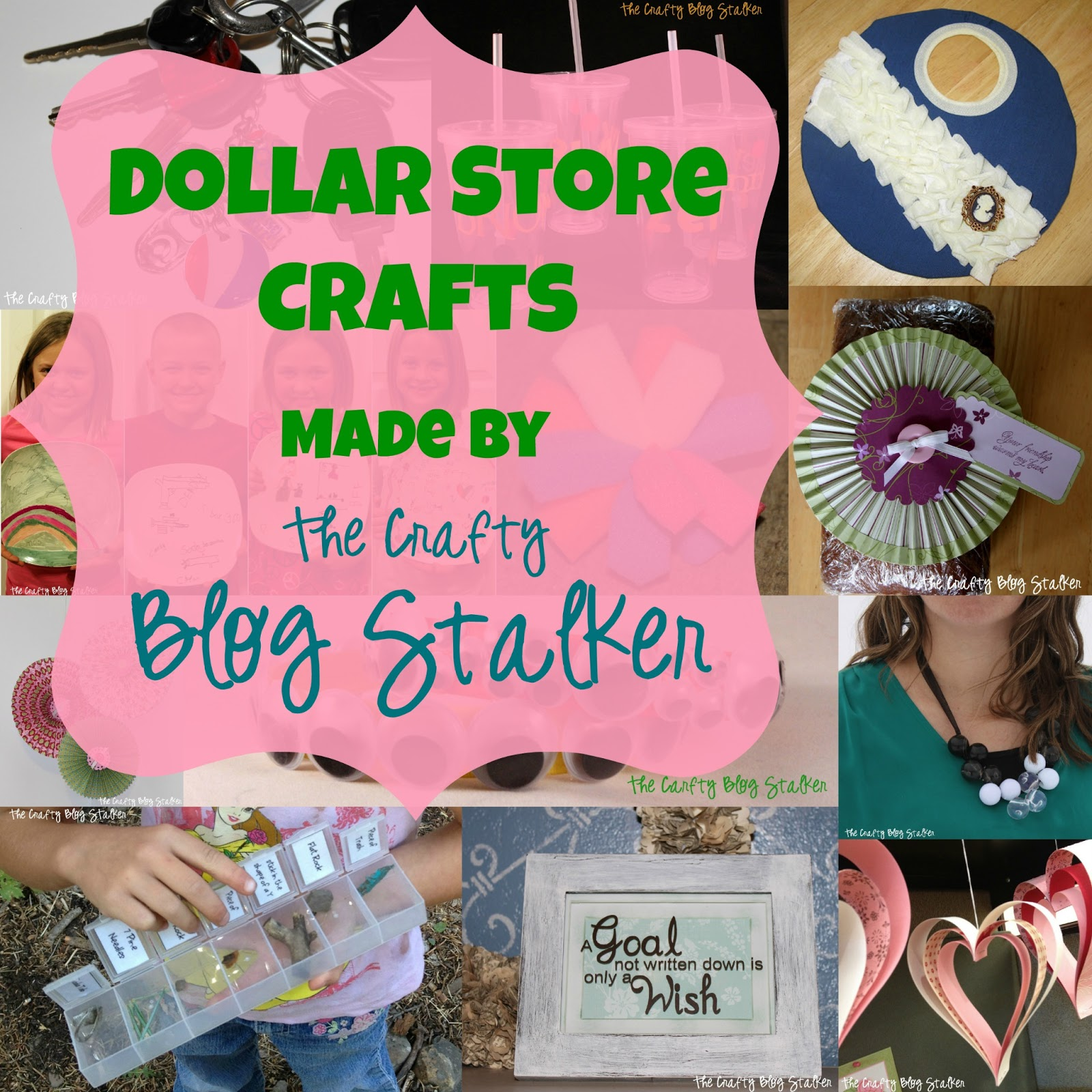 dollar store craft tutorials the crafty blog stalker