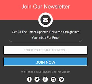 Cara Membuat Subscribe Box Dengan Sosial Media di Blog