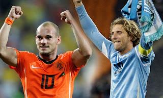Partido Amistoso Uruguay Vs Holanda