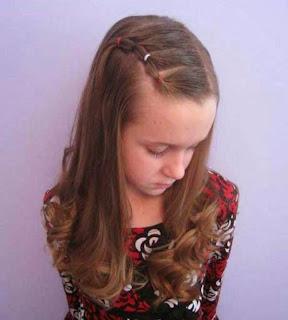 Model rambut panjang bergelombang cantik terbaru