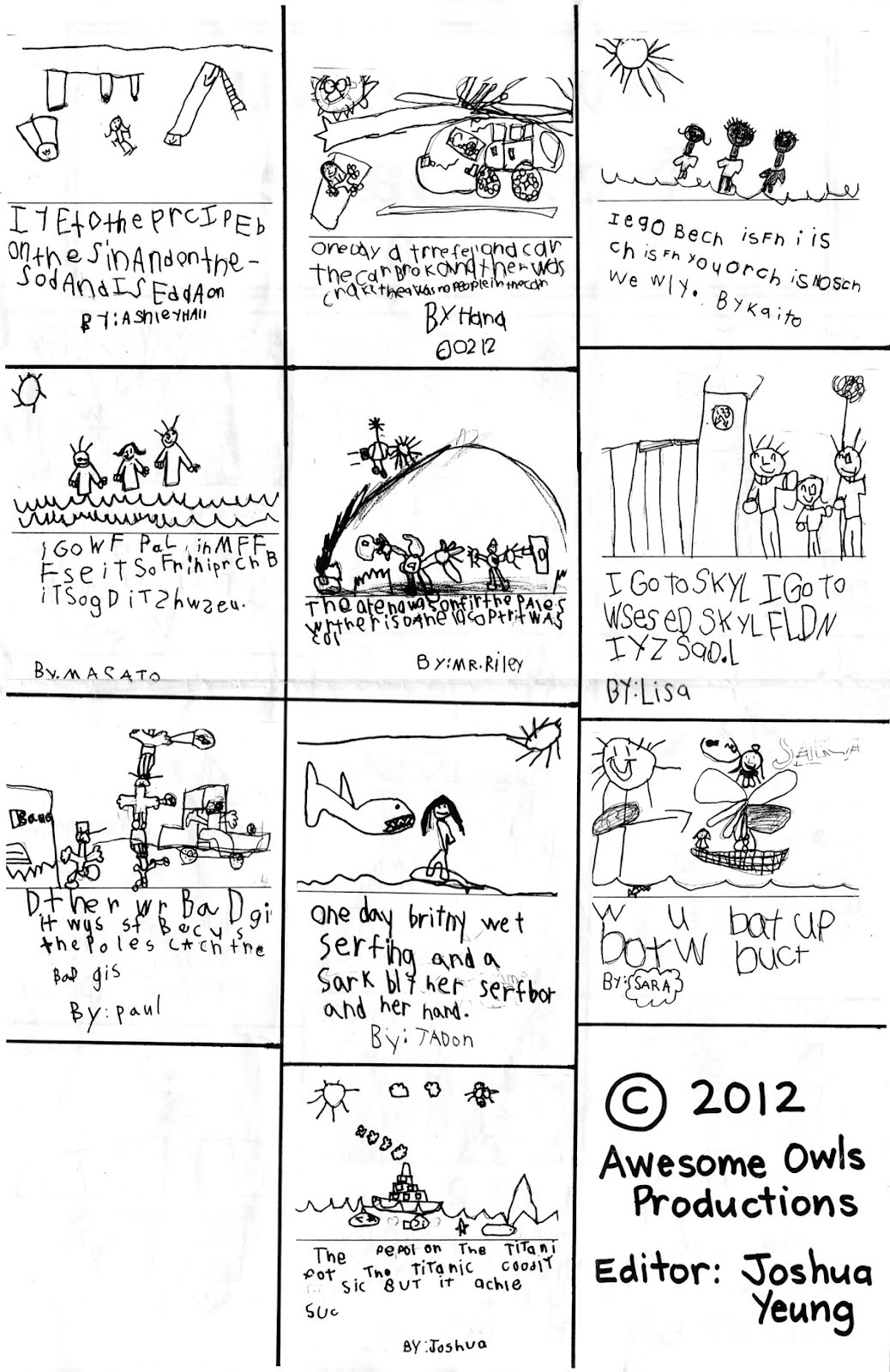 Kindergarten Newspaper