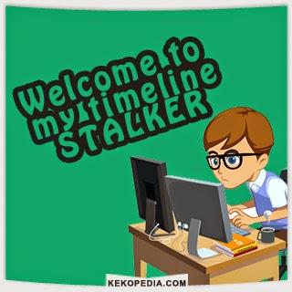 Gambar Dp BBM Stalking Timeline
